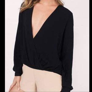 V-neck Tobi blouse